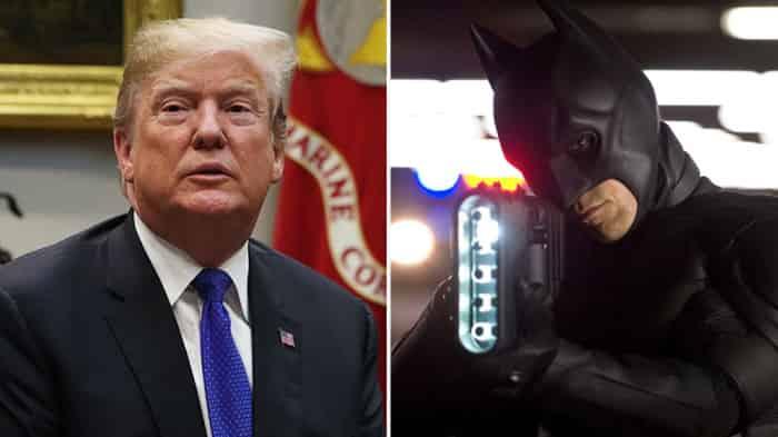 Donald Trump Dark Knight Rises WB