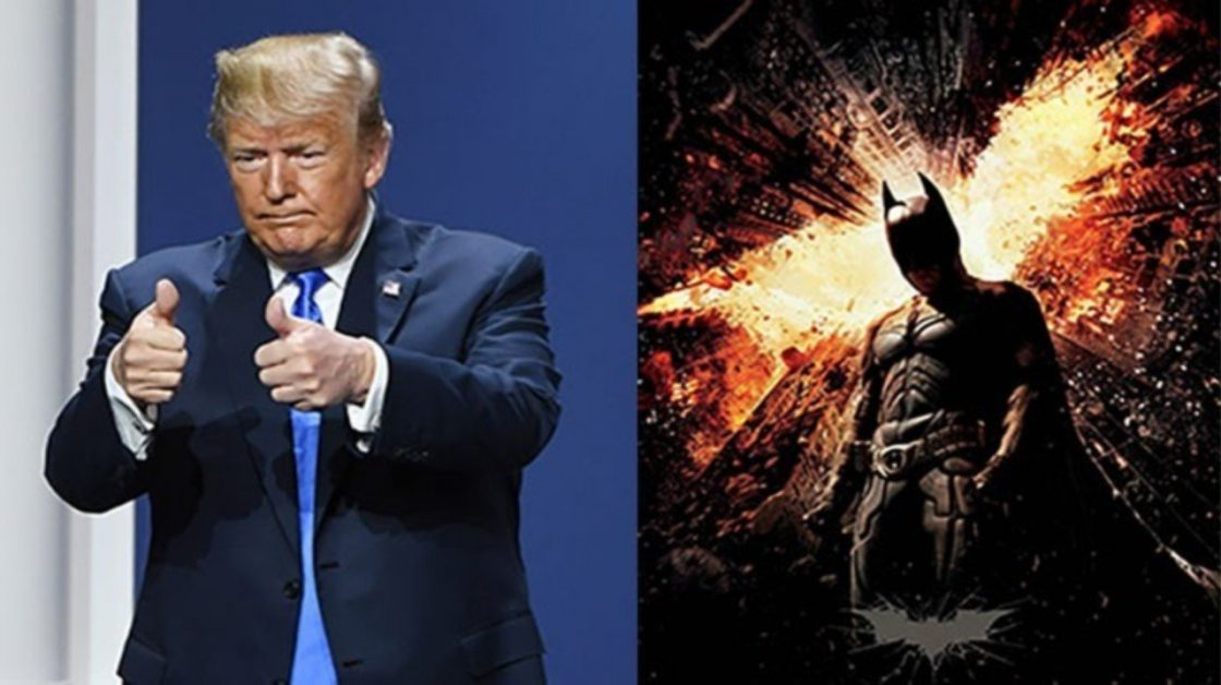 Dark Knight Rises Donald Trump