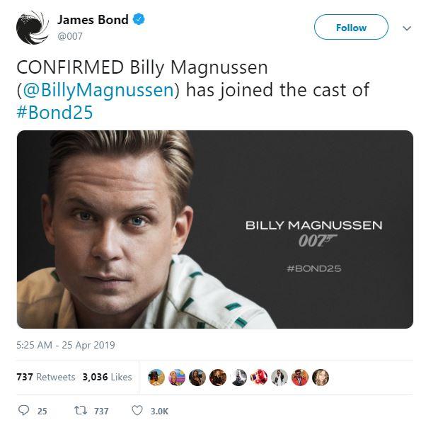 Bond 25 Cast