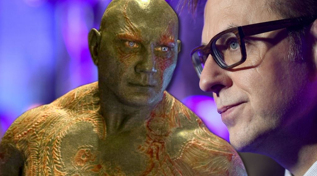 Guardians of the Galaxy 3 James Gunn Dave Bautista