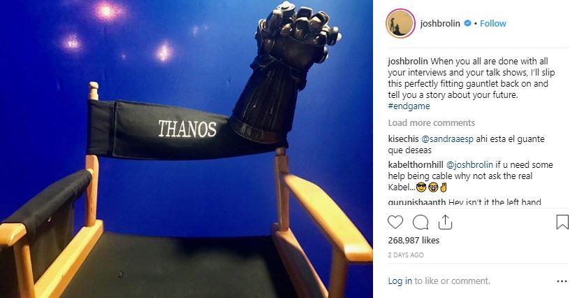 Avengers: Endgame Josh Brolin
