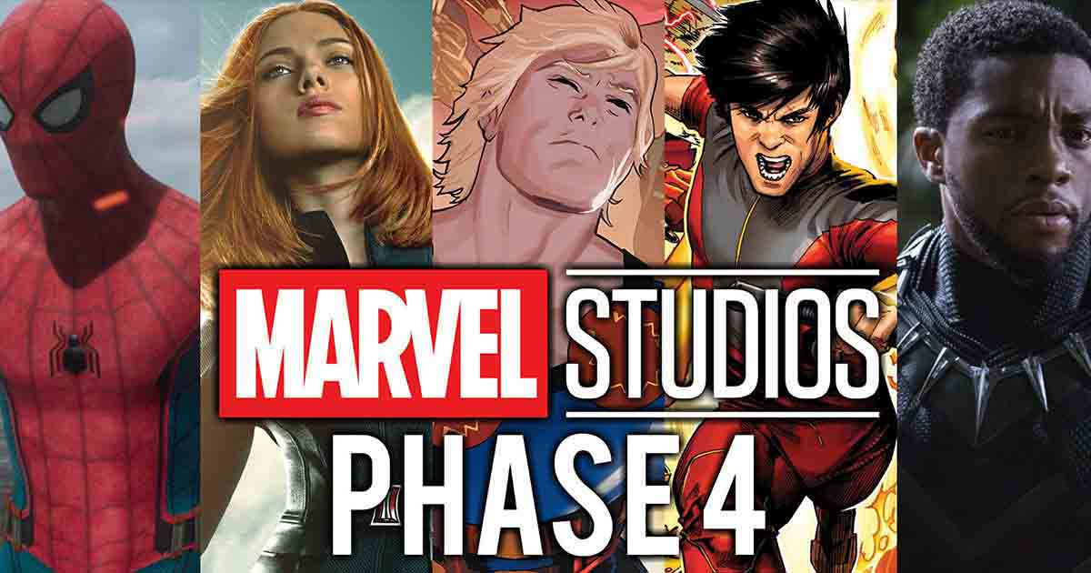 Photo of Marvel's Phase 4 Release Dates for Next 3 Years Have been Confirmed By Disney