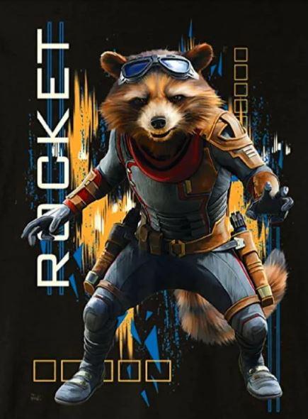 Avengers: Endgame Art Rocket
