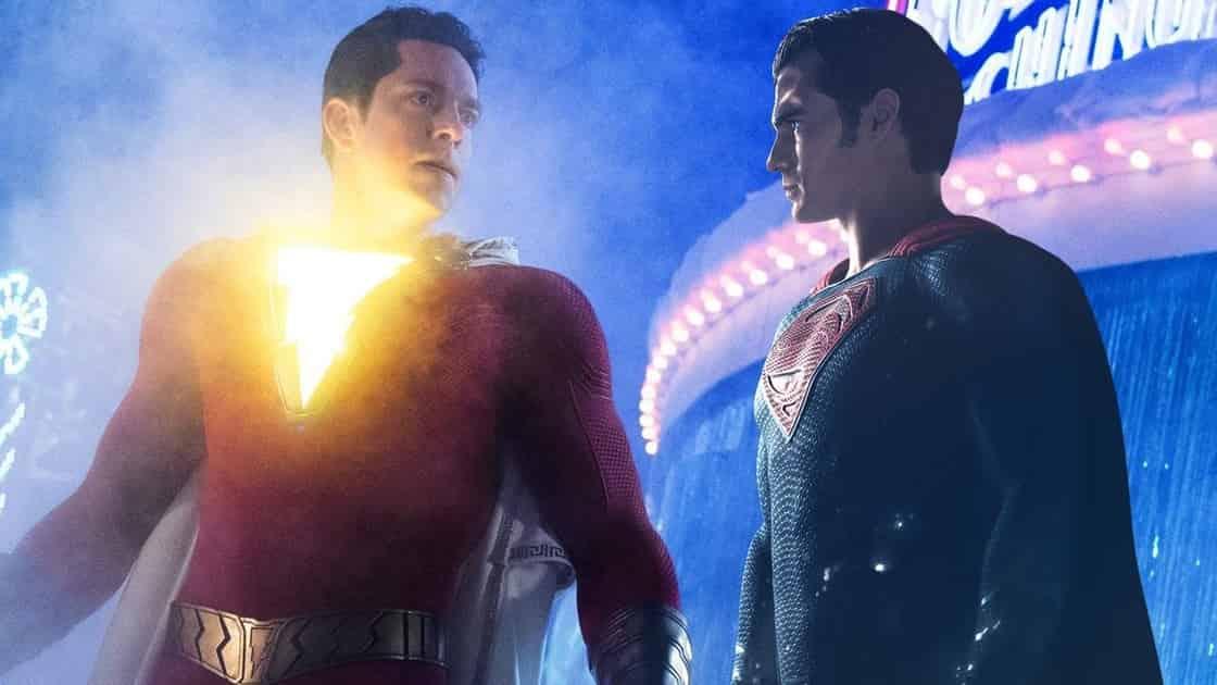 Shazam! Superman Henry Cavill