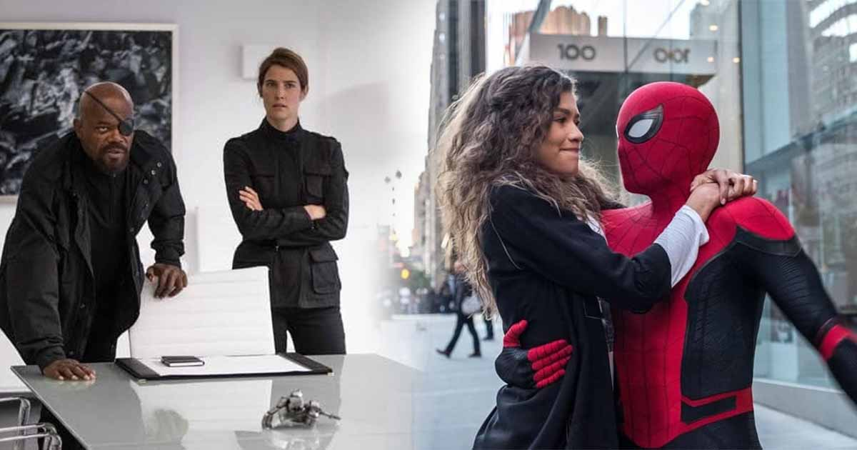 Photo of Spider-Man: Far From Home New Images Show Nick Fury & Spidey's Stealth Suit