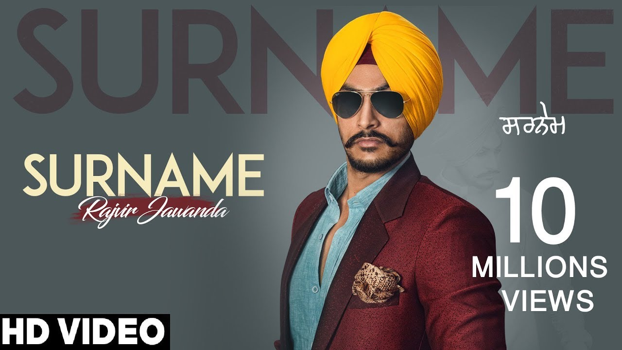 Surname Song Download Mr Jatt