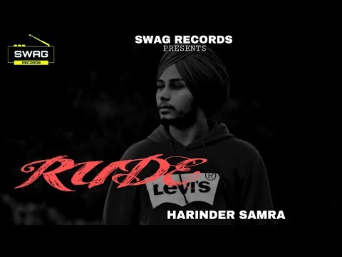 Photo of Rude Song Download By Harinder Sharma in High Definition (HD)