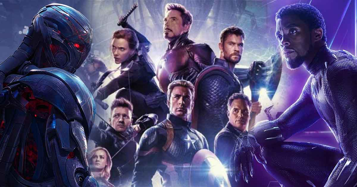 Avengers: Endgame Black Panther Age of Ultron