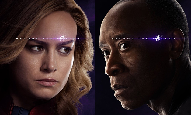 Avengers: Endgame Writers Captain Marvel War Machine