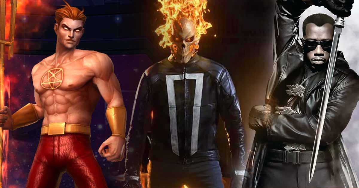 Photo of MCU's Live-Action 'Ghost Rider' & 'Helstrom' Series Confirmed, 'Blade' May Be a Possibility