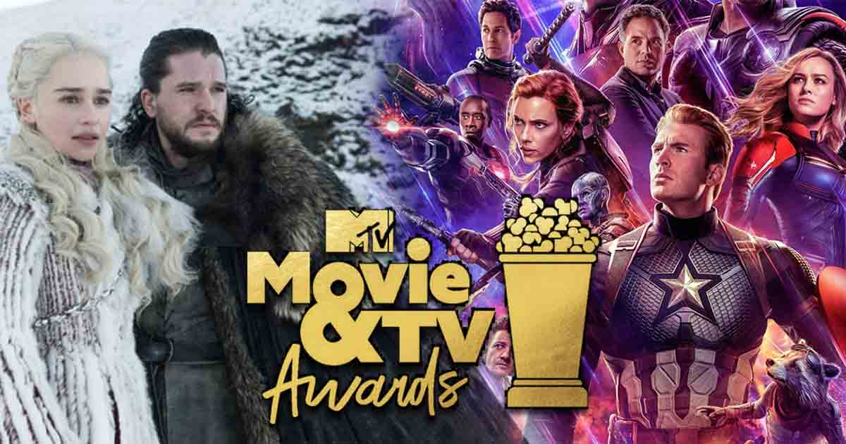 Photo of Avengers: Endgame and Game of Thrones Dominate MTV Movie & TV Awards 2019 Nominations