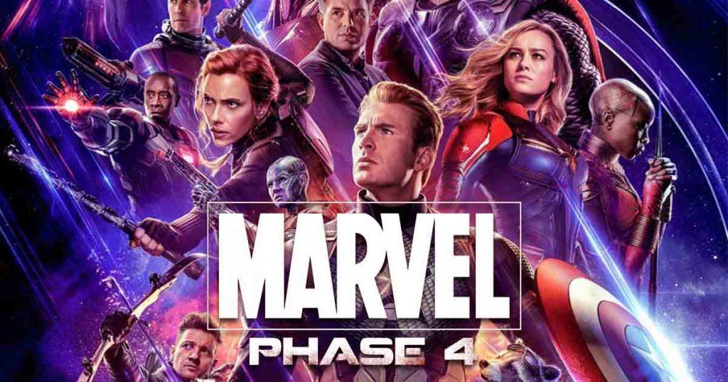 Avengers: Endgame MCU Phase 4 Disney