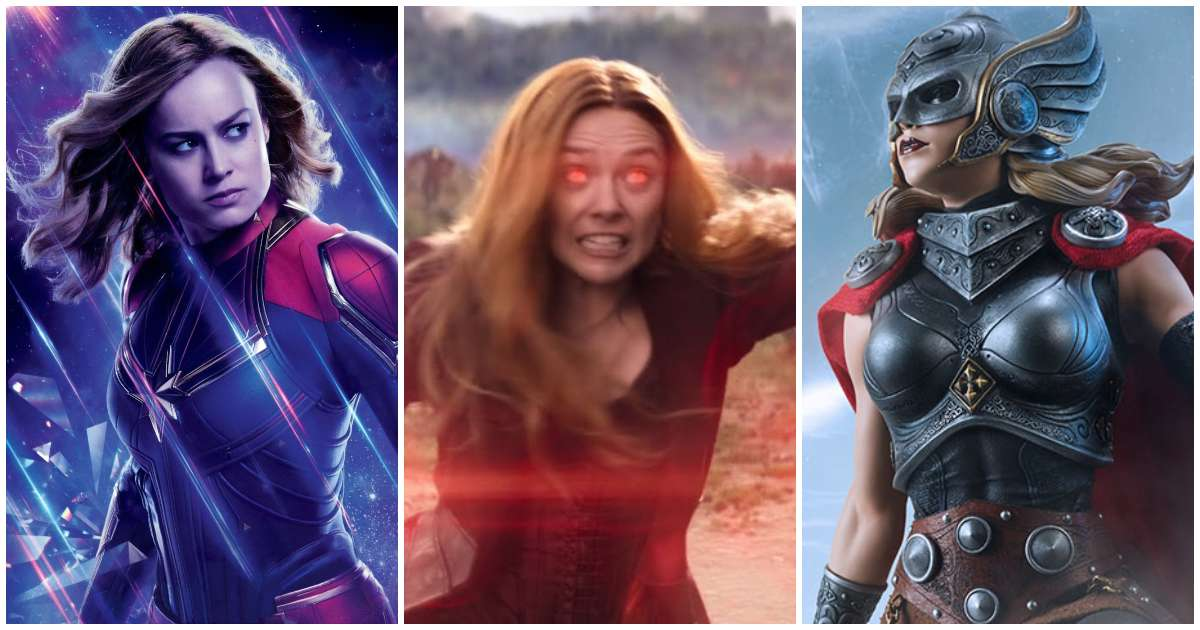 Most Powerful Female Avengers