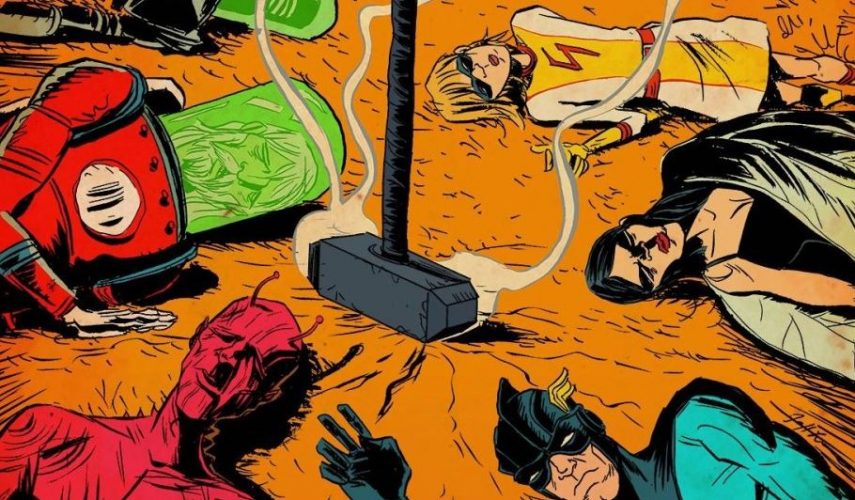 Non Marvel Non DC Comic Book Storylines Netflix