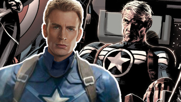 Avengers: Endgame Old Captain America Chris Evans