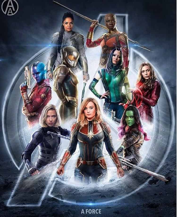 Avengers: Endgame Marvel A-Force