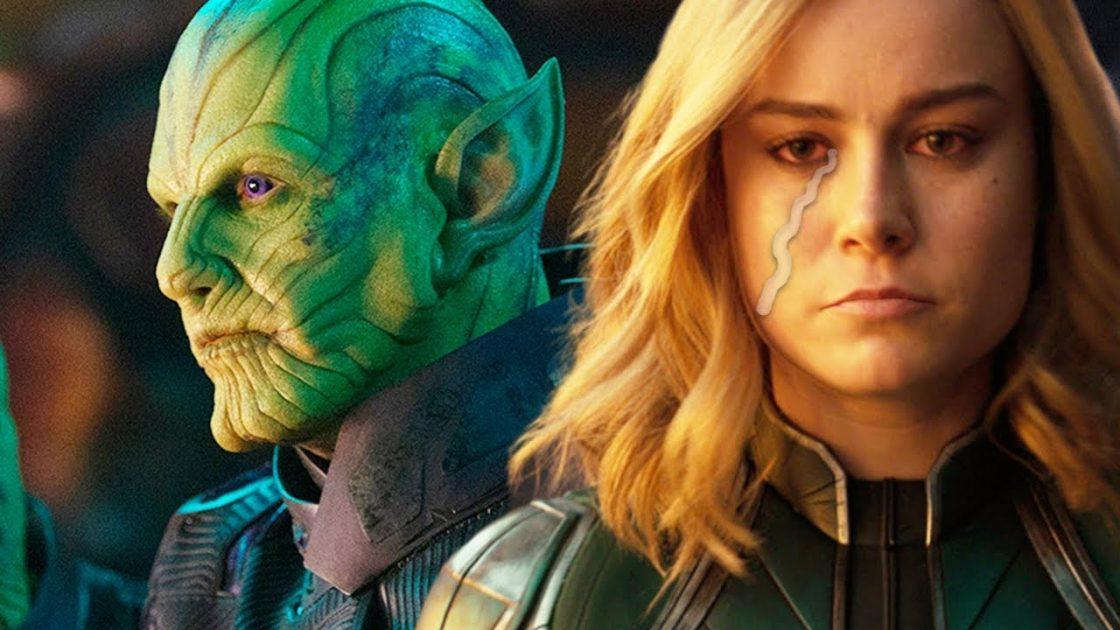 Avengers: Endgame Captain Marvel Skrulls