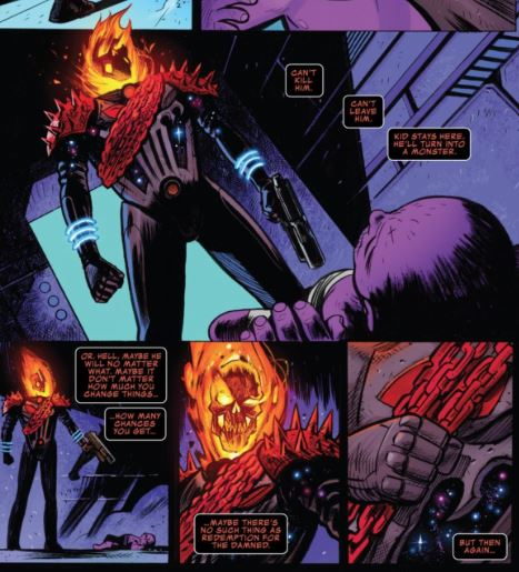 Avengers: Endgame Comic Ghost Rider