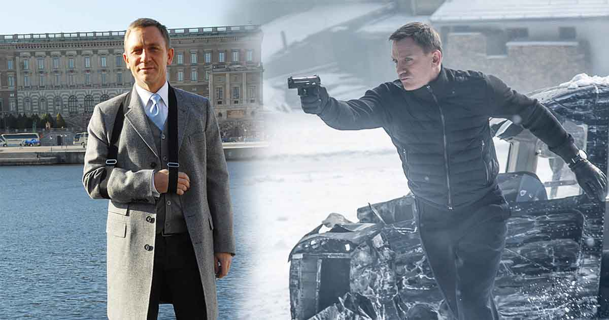 Photo of Releasing Bond 25 Becomes Difficult as Filming Halted After Daniel Craig Injury