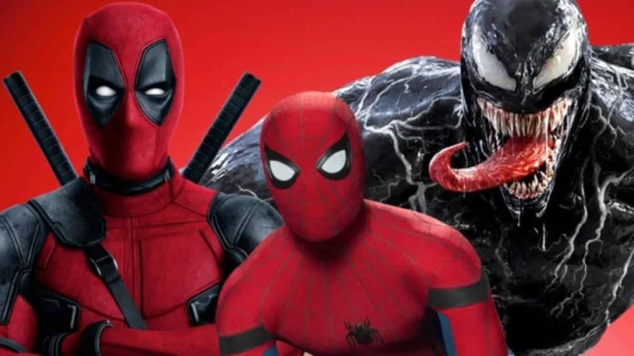 MCU Sony Spider-Man 3 Deadpool Venom Tom Hardy