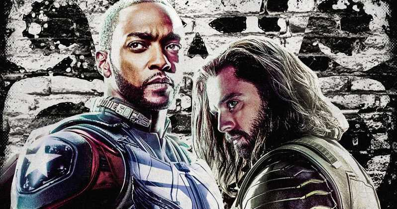 Falcon & Winter Soldier Bucky's New Look