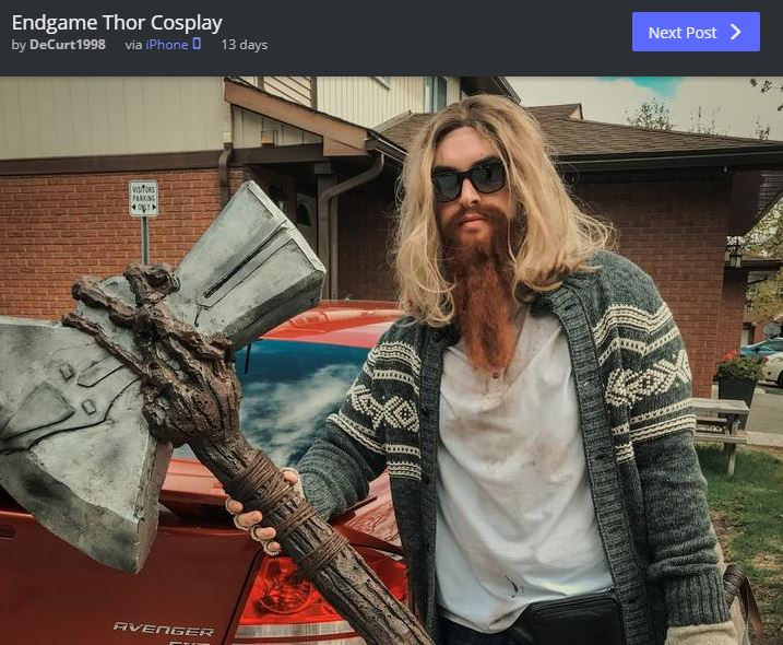 Fat Thor Avengers: Endgame