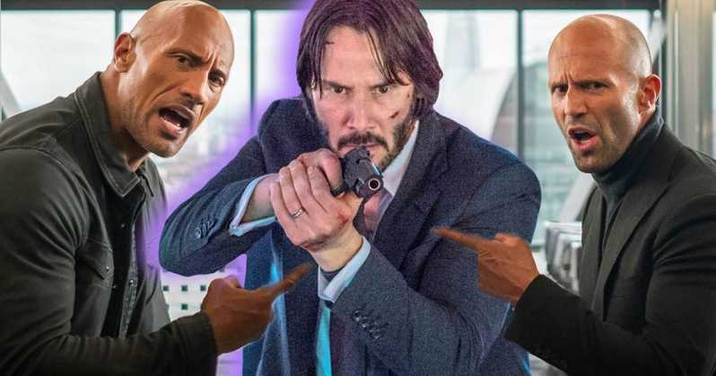 The Eternals Keanu Reeves John Wick