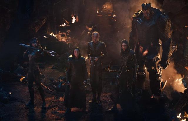 Avengers: Endgame Thanos Army