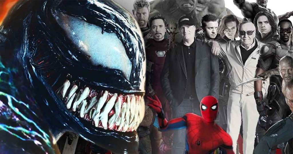 Far From Home Venomverse Multiverse MCU Sony