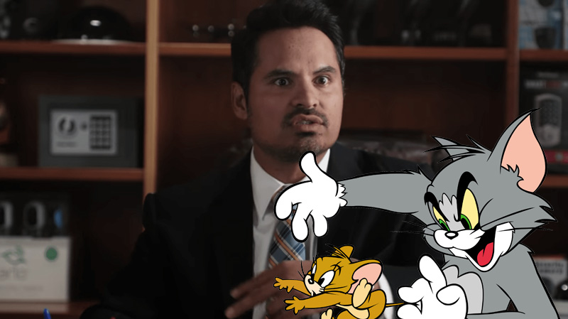 Photo of Tom & Jerry Live-Action Movie Casts Marvel Star Michael Pena
