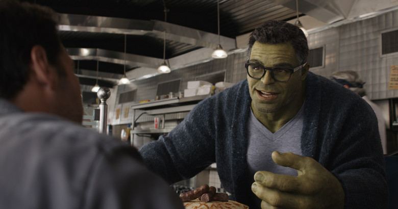 Avengers Endgame Scene Where Bruce & Hulk Spoke