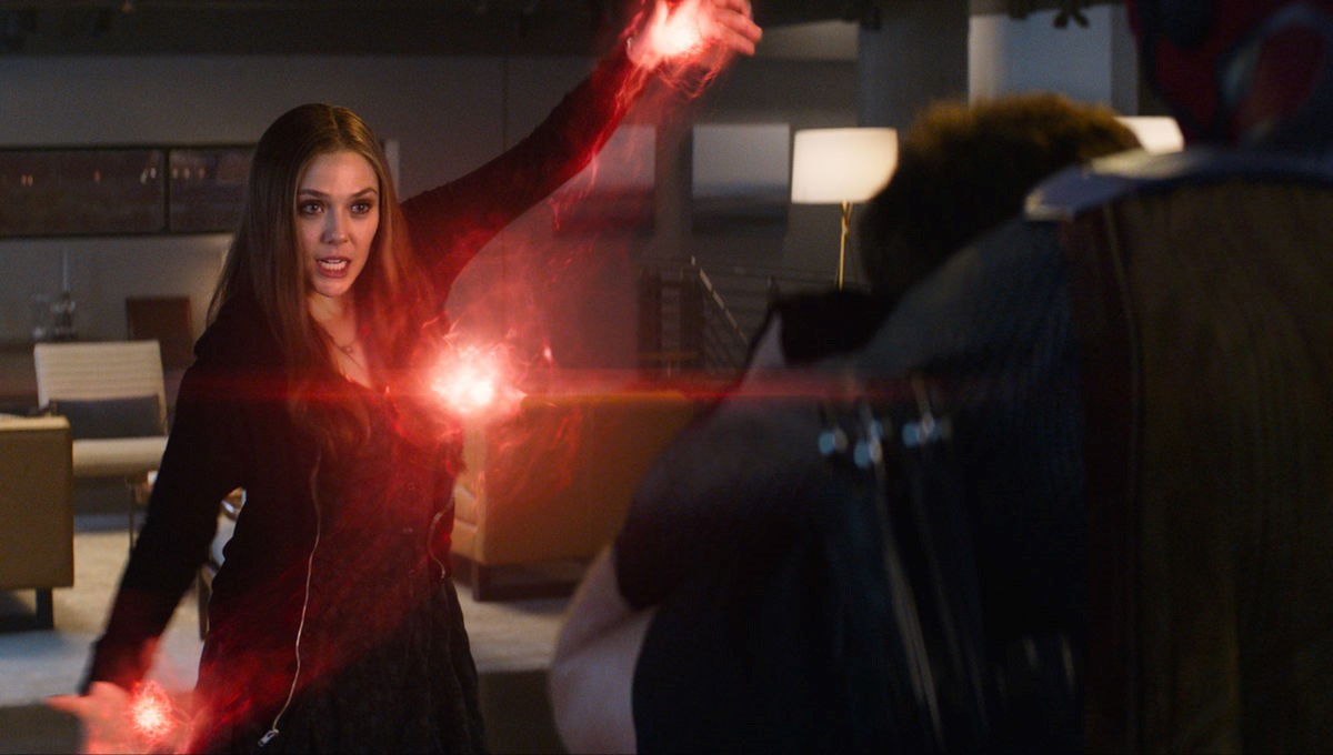 Kevin Feige Scarlet Witch Thanos