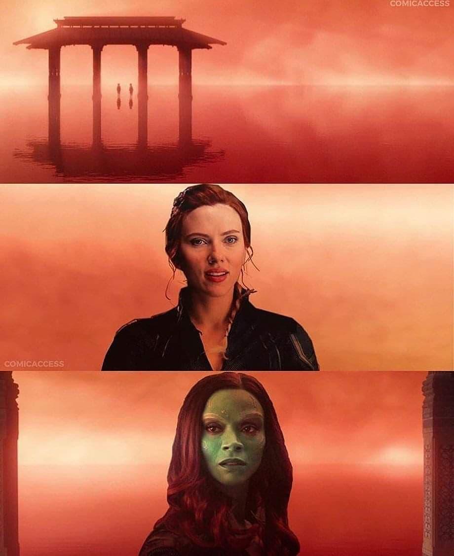 Avengers: Endgame Theory Smart Hulk Black Widow