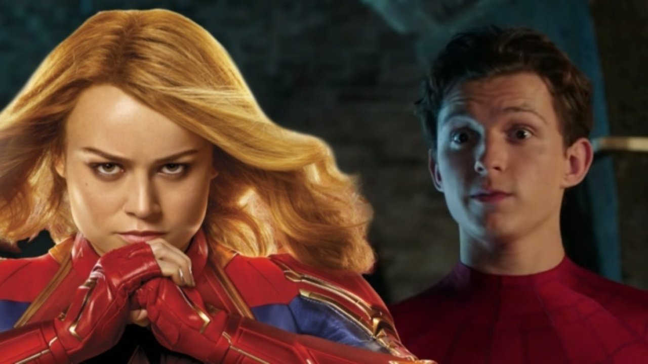 Spider-Man: Far From Home Captain Marvel Carol Danvers
