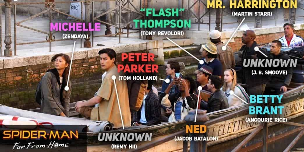Spider-Man: Far From Home Peter Parker Remy Hii