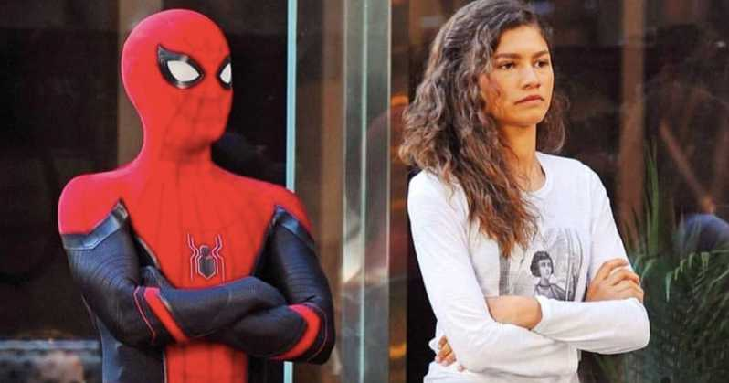 Spider-Man: Far From Home Promo Peter Parker MJ