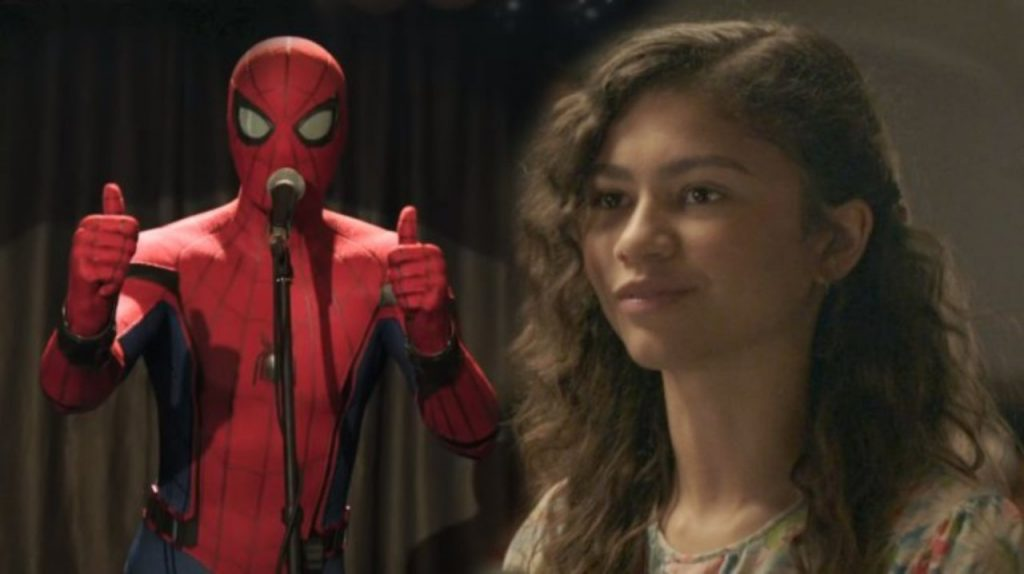 Spider-Man: Far From Home Promo MJ Peter Parker