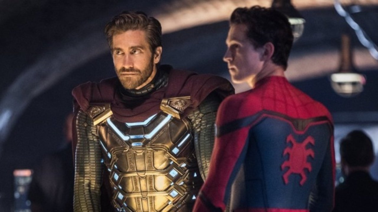 Spider-Man: Far From Home Mysterio Peter Parker