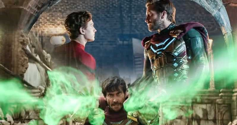 Photo of New Spider-Man: Far From Home Clip Shows Mysterio Explaining The Elementals