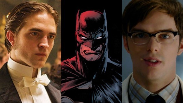 The Batman Robert Pattinson Nicholas Hoult