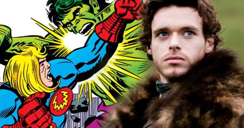 Photo of First Set Photos of Richard Madden as Ikaris Confirm the Timeline of Eternals