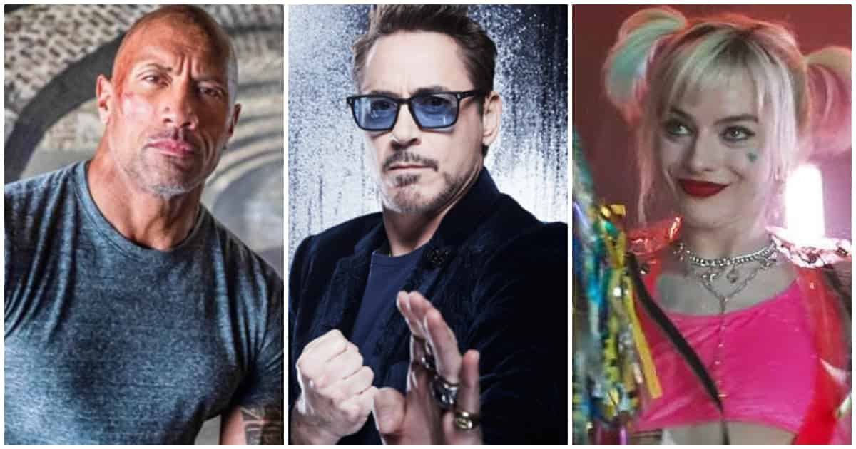 Top 2019 Movie Stars Salaries