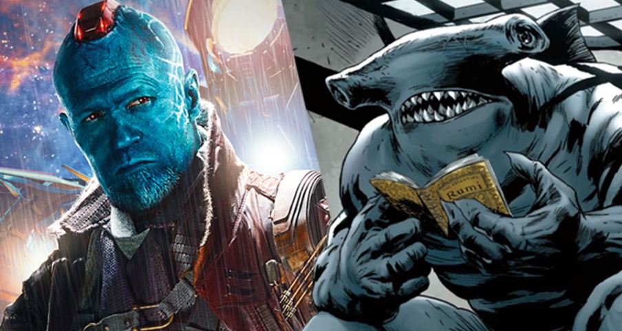The Suicide Squad Yondu King Shark Guardians of the Galaxy