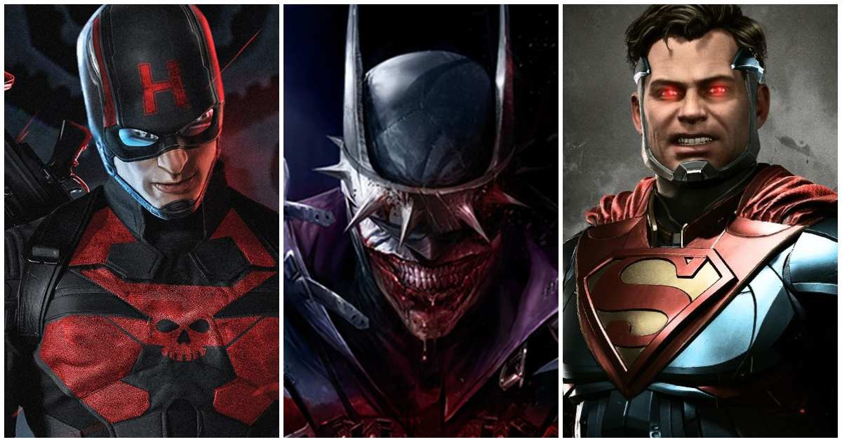 Evil Versions of Iconic Superheroes
