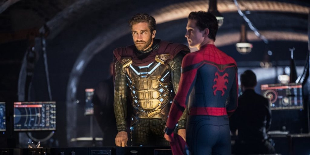 SpiderSpider-Man: Far From Home MCU Spider Sense-Man: Far From Home Theory Mysterio