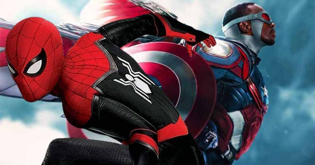 Spider-Man: Far From Home Falcon Captain America