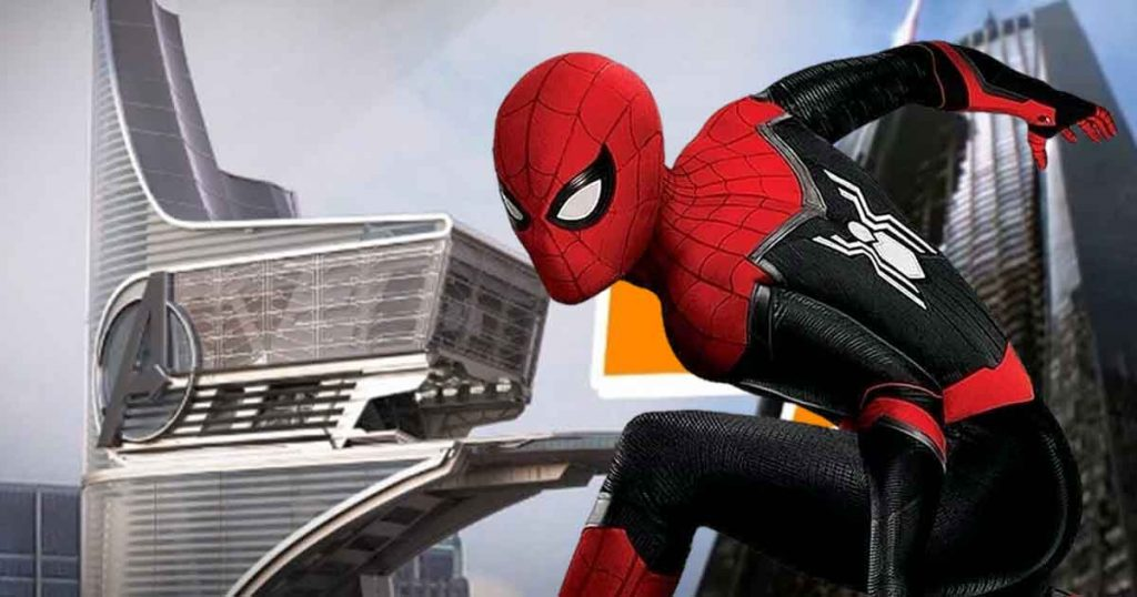 Spider-Man: Far From Home Avengers Tower