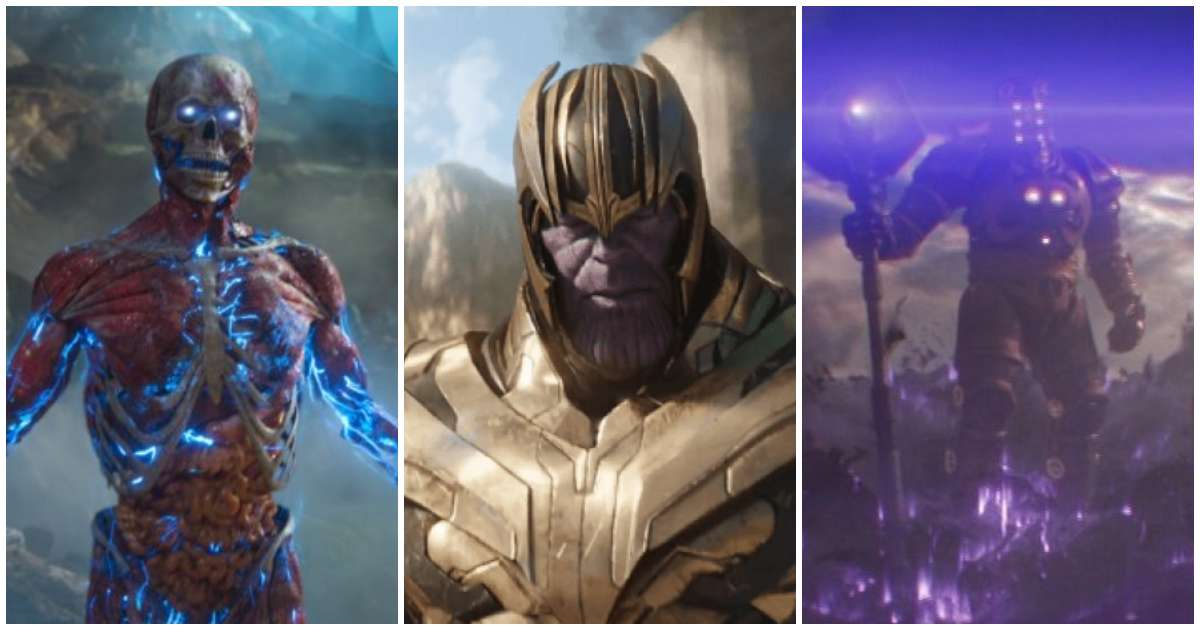 Avengers: Endgame Thanos Infinity Sword Celestials