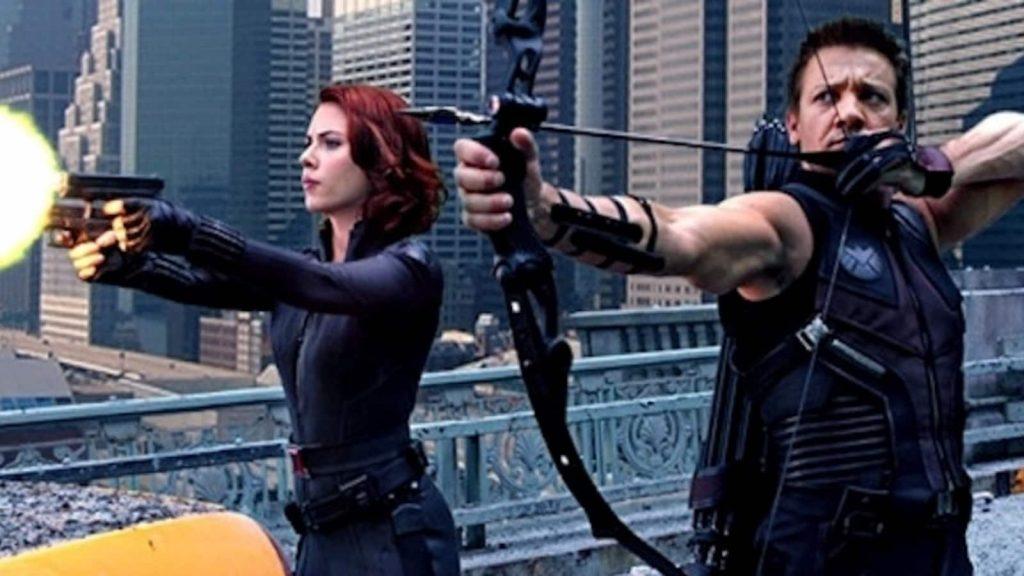 Hawkeye Black Widow Solo Movie