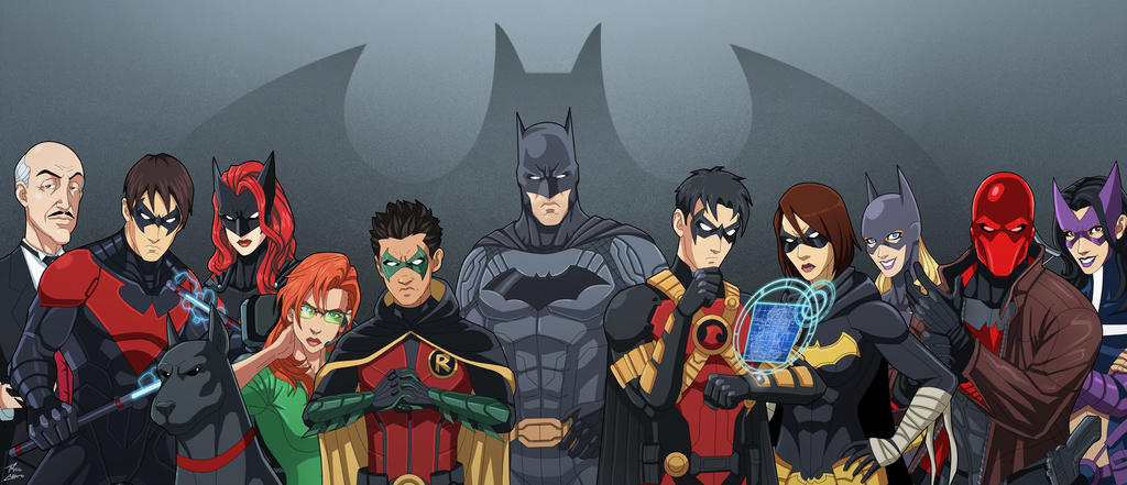 The Batman Robin Bat-Family